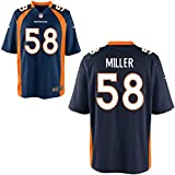 58 Von Miller Trikot Denver Broncos Jersey American Football Shirt Mens