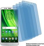 4ProTec 4X ANTIREFLEX matt Schutzfolie für Motorola Moto G6 Play Bildschirmschutzfolie Displayschutzfolie Schutzhülle Bildschirmschutz Bildschirmfolie Folie