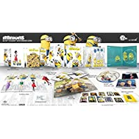MINIONS FullSlip + Lenticular Magnet WEA Exclusive 3D + 2D Steelbook™ Limited Collector's Edition - Numbered Region Free