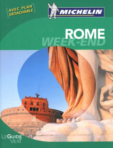 Guide Vert Week-end Rome par Collectif Michelin