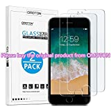OMOTON [2 Pack] iPhone 7 Screen Protector- Tempered Glass Screen Protector for Apple