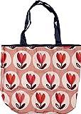 Faltshopper 50x35x12cm Tasche Einkaufstasche Falttasche (Tulpen)