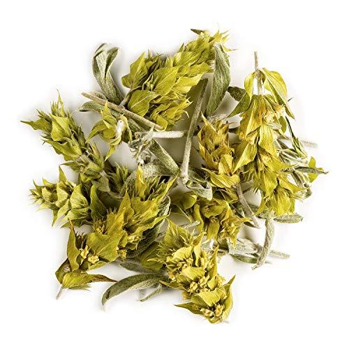 Greek Mountain Tea Organic Handpicked - Ironwort Herbal Tea from Mt Olympus Greece - Also Called Sideritis Scardica Or Shepherd's Infusion 50g