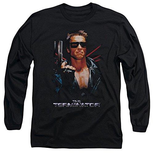 Terminator - Herren-Plakat T-Shirt Black