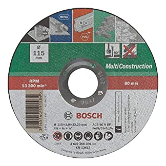 BOSCH – Disco multiuso, recto