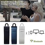 Traduttore auricolare Smart elettronico indossabile, dispositivo wireless Bluetooth traduce in tempo reale conversazioni interattive, sistema iOS, supporta 16lingue tra cui inglese, cinese, francese, spagnolo e giapponese