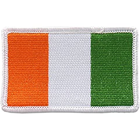 Embroidered IRISH Flag PATCH, Iron-On / Sew-On - 3