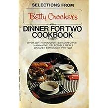 Betty Crocker's Dinner for Two Cookbook by Betty Crocker (1981-10-01)