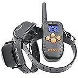 Collar Adiestramiento Para dos perros PET 998 N2 Vibración + sonido 300 Metros Batería recargable