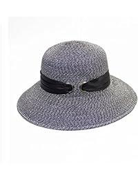 al aire libre Sombreros de playa Sombreros de sol Gorros Sombrero de paja  Sombrero de paja 8f518b0425c