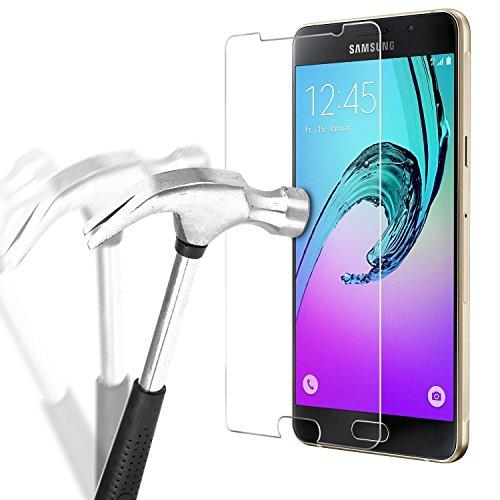 Preisvergleich Produktbild Samsung Galaxy A3 2016 Panzerglas Kapoo [2 Pack] Panzerglas Schutzfolie für Samsung Galaxy A3 2016 Hartglas Samsung Galaxy a3 2016 écran Displayschutzfolie