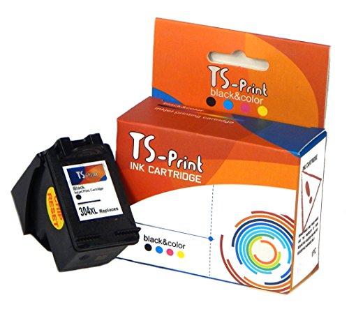 TS-Print Cartucho de Tinta Compatible con HP-304-XL Negro Black