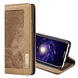 Schützen Sie Ihr Mobiltelefon CaseMe für Samsung Galaxy S8 + / G955 Denim + Leinwand + PC Material Horizontal Flip Ledertasche mit Kartensteckplatz & Halter & Brieftasche & Fotorahmen für Samsung Handy ( Großauswahl : Sas2190z )