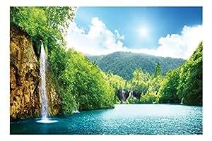 Buy Artstory Vinyl Beautiful Scenery Wall Sticker 40 Cm X