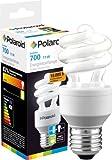 Polaroid Energiesparlampe Birne Spiral 11W, E27, entspricht 50 Watt Glühbrine, 700 Lumen 806099