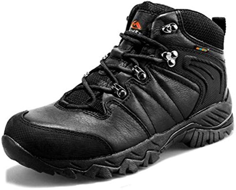 Pattini di alta scarpa in pelle superiore scarpe da sci all'aperto e inverno impermeabili antiscivolo e durevoli... | Un'apparenza Elegante  | Gentiluomo/Signora Scarpa