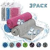 Digitek Cooling Towels - Ice Towel, Sports Towel, Fitness Towel for Instant Cooling
