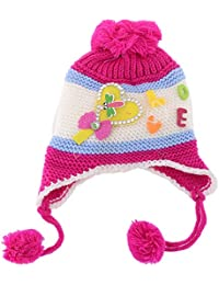 341a9e33700 SHOP FRENZY Fancy Woolen Kids Cap for Baby Girl and Baby BOY Winters Beanie  Ear EARNER