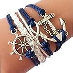 Oyedens Bracelet Tress� Infini Ancr�...