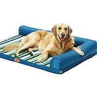 Cama para perros grandes Cuna de colchón suave Colchón de gato medio Cómoda lavable Extraíble Cubierta