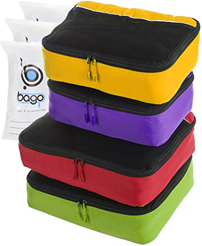 packing-cubes-4pcs-value-set-for-travel-plus-6pcs-luggage-organiser-zip-bags-greenredpurplyellow