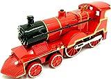 Steam Train Locomotive Train Die Cast Steam Train Toy Train with Sound & Light - KandyToys - amazon.co.uk