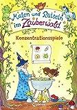 Malen und Rätseln im Zauberwald - Konzentrationsspiele: Lernspiele für die Vorschule ab 4 Jahre