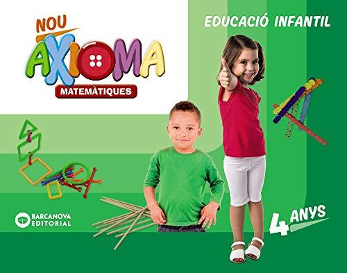 Nou Axioma 4 anys. Matemàtiques. Carpeta de l'alumne