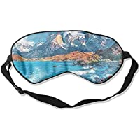 Comfortable Sleep Eyes Masks Sea Bay Printed Sleeping Mask For Travelling, Night Noon Nap, Mediation Or Yoga preisvergleich bei billige-tabletten.eu