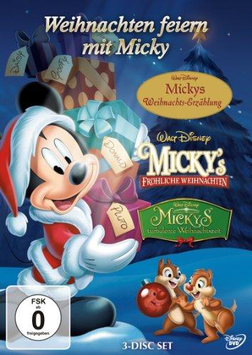 Weihnachten feiern mit Micky [3 DVDs] (Walt Box-set Disney)