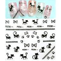 Nail Art 3D Decal Sticker Cat Nail Sticker