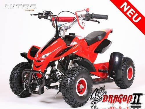 Mini Quad ATV Kinderquad 49 cc Powerquad 49ccm 2012 NEU, Farbe Powerquad:Schwarz