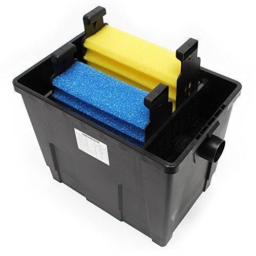 SunSun Biofilter CBF-200A Filteranlage 1 Kammer-System für 6000 L/h inkl Filtermaterial - 3