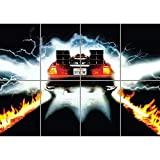 BACK TO THE FUTURE CULT CLASSIC MOVIE FILM GIANT WALL POSTER PLAKAT DRUCK PRINT NEW G1304