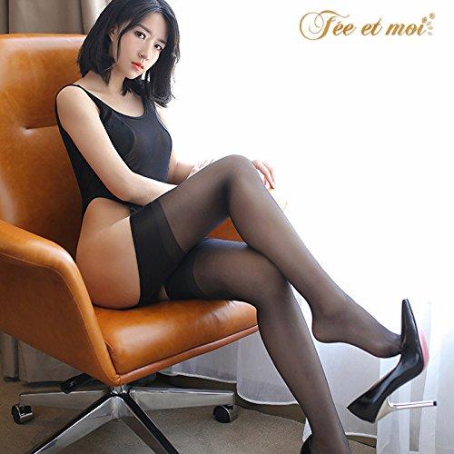 BTBTil-gusto-di-biancheria-intima-estrema-tentazione-kit-core-trasparente-fili-nero-calze-calze-7231-accessori