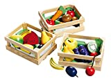 Happy People 45005 Wooden Fruit and Vegetables, Multi-Color