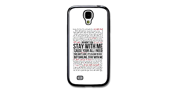 Cool Sam Smith Stay With Me Lyrics case for Samsung Galaxy