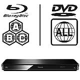 Panasonic DMP-BDT370EB Smart 3D 4K Upscaling WiFi ICOS Multi Region All Zone Code Free Blu-ray Player. Blu-ray regions A, B and C, DVD regions 1-8. YouTube, Netflix etc. HDMI output. HDD Playback.