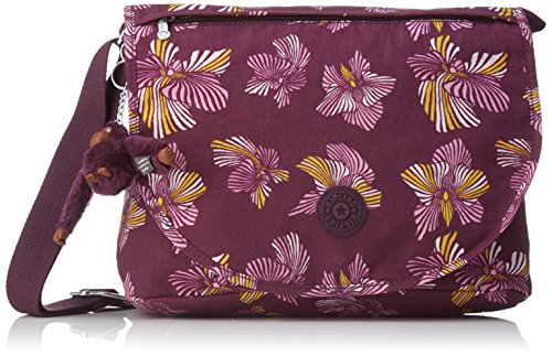 Kipling - Orleane, Borse a tracolla Donna Multicolore (Herridage Fl)
