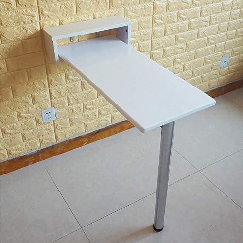 Yjdqzddnz tavolo da muro pieghevole,piccolo bancone,balcone housing semplice scaffali galleggiante,studio notebook computer desk bambini tavolo,scrivania,consolle cucina tavolo da pranzo,alta p