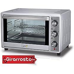 spice- horno electrico con asador, doble cristal, 36 L ventilado con recirculation