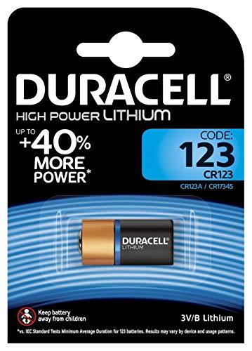 Duracell Ultra/Ultra Lithium  Batterie 123 (CR17345) 1er Duracell 123 Lithium-batterie