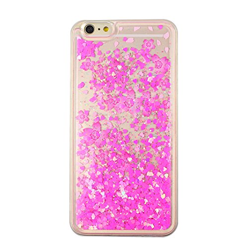 Hülle iPhone 7 Treibsand Schale 4.7 Zoll, iPhone 7 Slimcase, Moon mood® Color Gradient Überzug Plating Case für Apple iPhone 7 Durchsichtige Handyhülle 3D Creative Case Mode Bunten Transparente Krista Stil 7