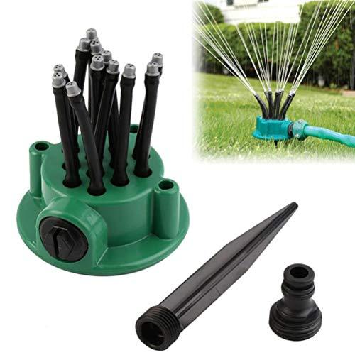 Gaddrt flessibile prato giardino spruzzatore irrigatore accurate Noodlehead con supporto v