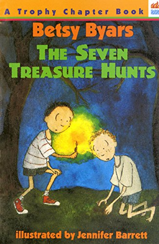 The Seven Treasure Hunts (Trophy Chapter Books (Paperback))