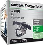 Rameder Komplettsatz, Anhängerkupplung schwenkbar + 13pol Elektrik für Audi A4 (112734-06418-6)