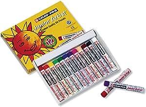 Bulk Buy: Sakura Pens & Markers Cray Pas Jr. Artist Oil Pastels 12/Pkg by Sakura