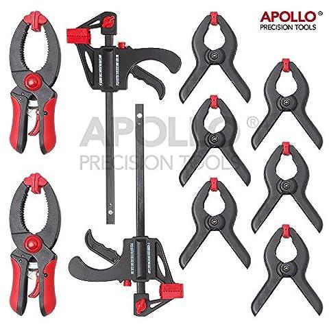 Apollo Precision Tools 10pcs Clamp Set