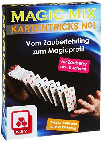 NSV - 4010 - MAGIC MIX- Kartentricks No. I, Zaubertrick-Lernspiel - Kartenspiel