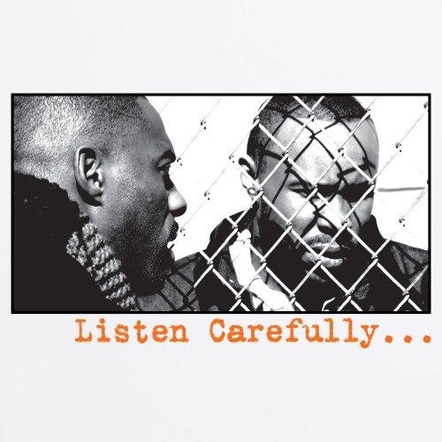 Official The Wire T-Shirt - Listen Carefully, Herren Wei